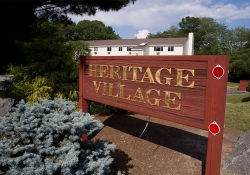 Heritage Village sign