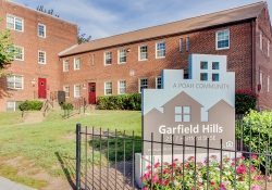 Garfield Hills sign