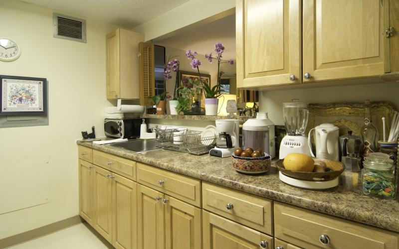 Blackstone unit kitchen