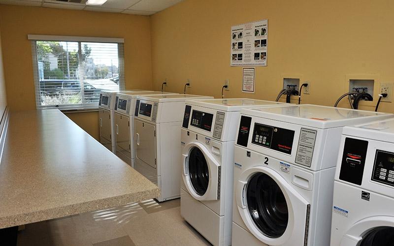 Aaron Briggs Manor laundry room
