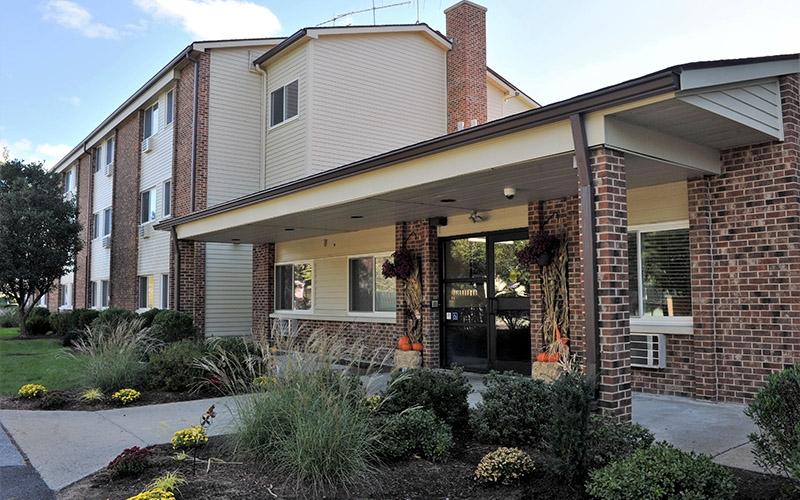 Aaron Briggs Manor office exterior
