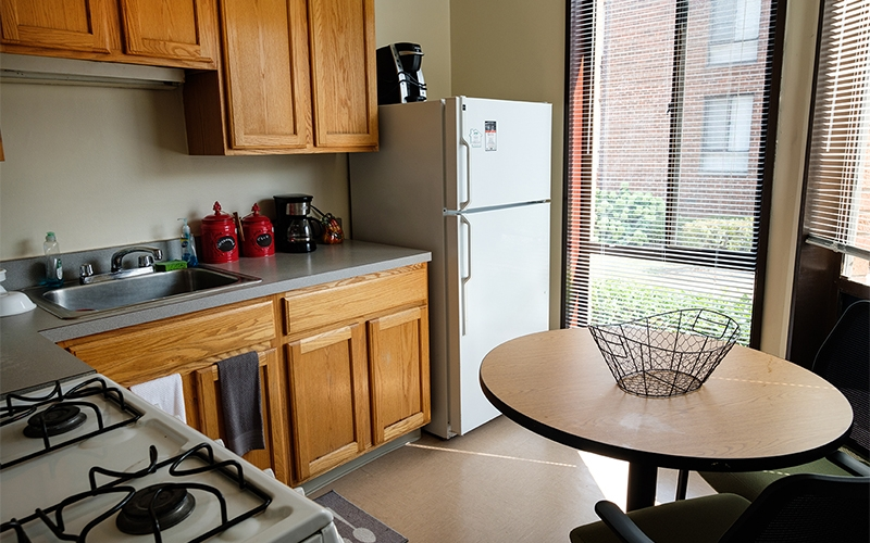 Greenwood Park Apartments unit kitchen