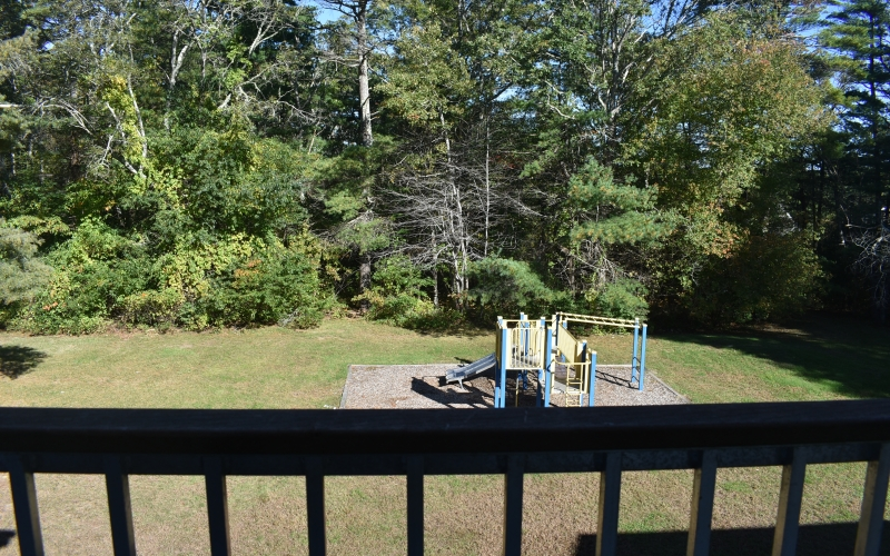 Brandy Hill Apartments view of playground from unit