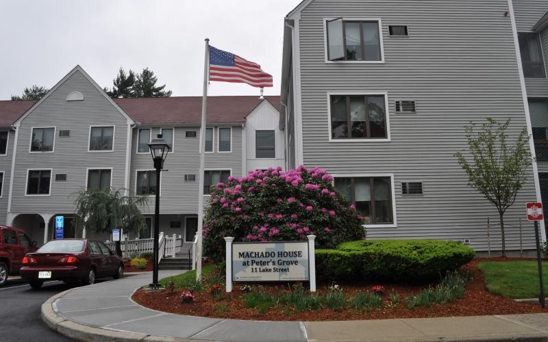 Machado House exterior and sign