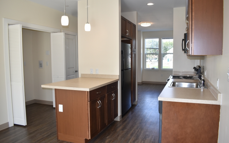 High Meadow Townhomes unit kitchen