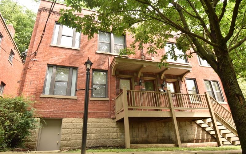 Kerper Apartments porch