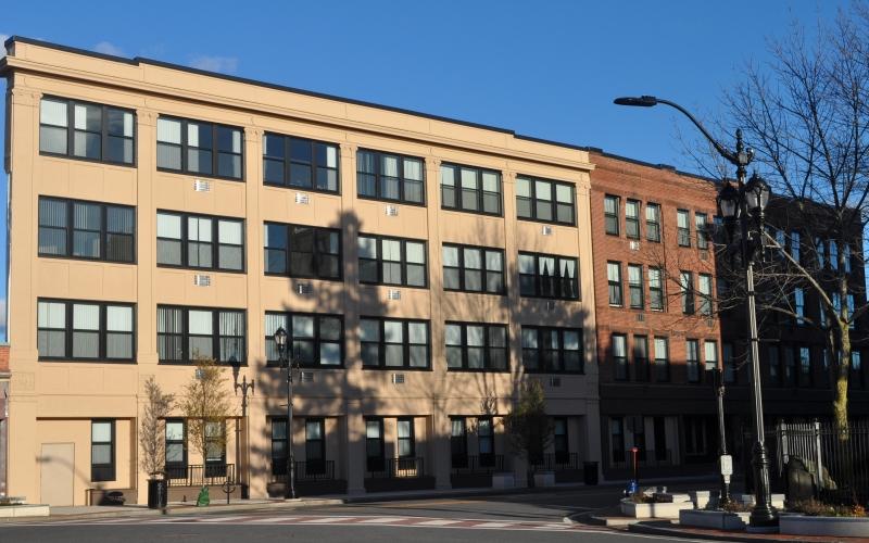 Tribune Apartments exterior
