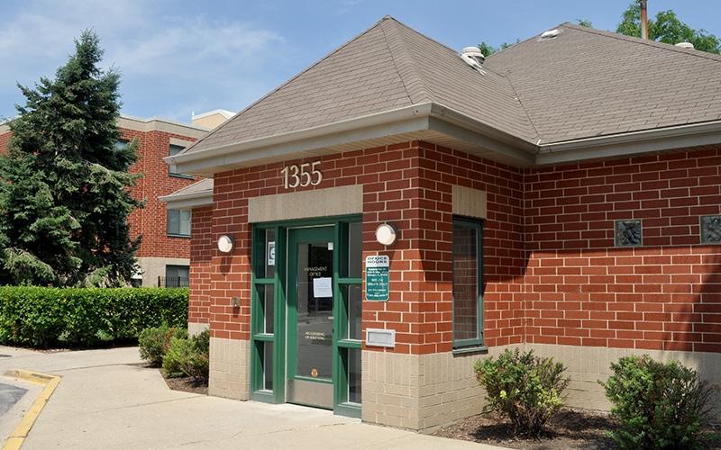 Newberry Park Apartments entrance