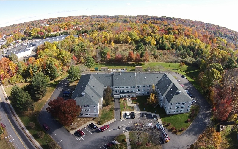 Torringford West Apartments view from above