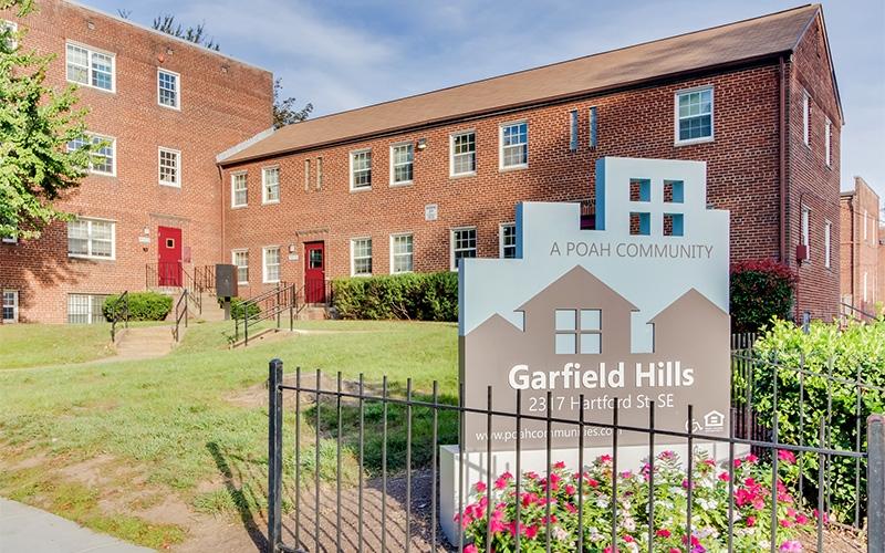 Garfield Hills sign