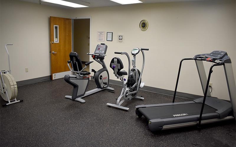 Grace Apartments gym