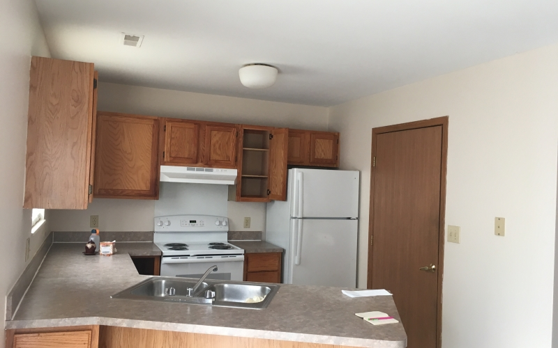 Walnut Grove unit kitchen