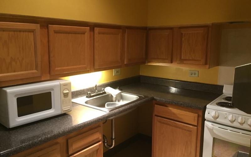 Martin Farrell House unit kitchen