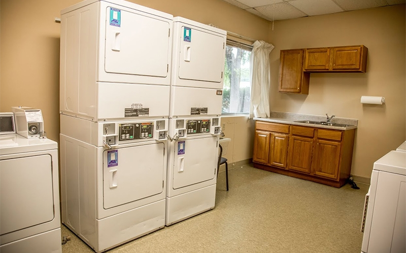 Colony Plaza Apartments laundry room