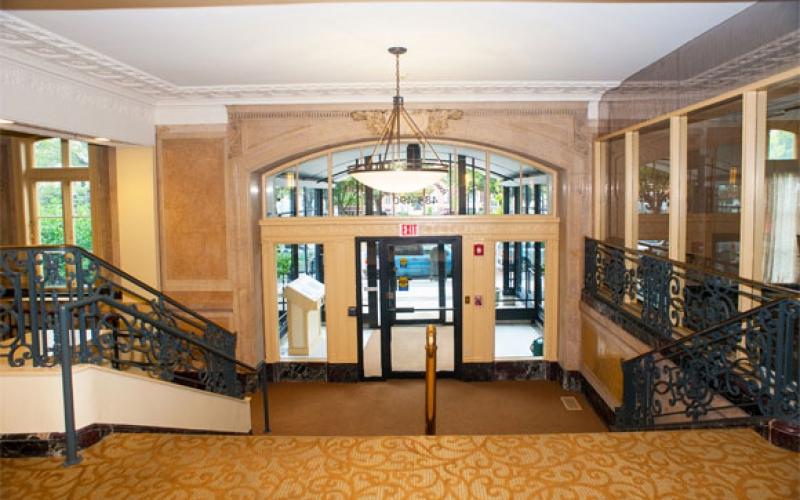 Kenmore Abbey interior entrance lobby