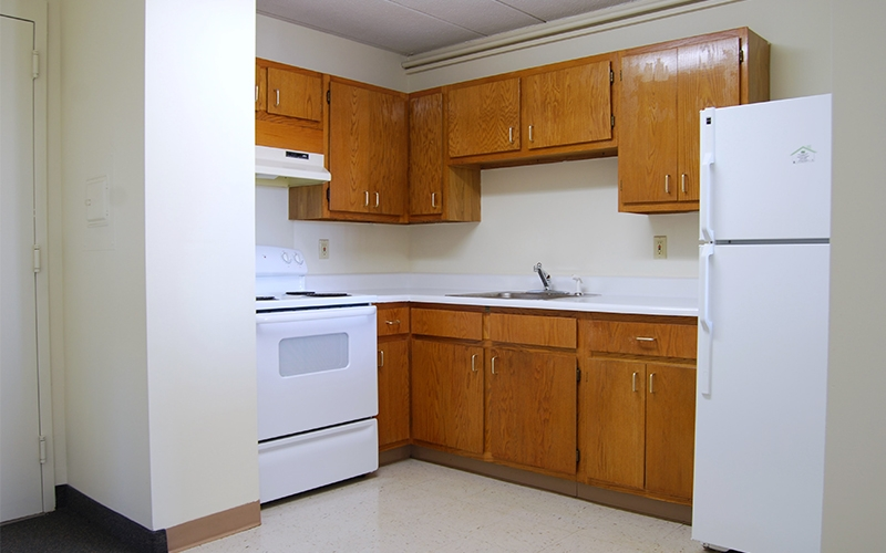 Pocasset Manor unit kitchen