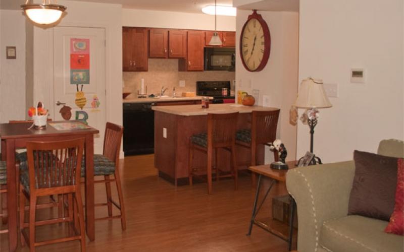 Torrey Woods unit kitchen