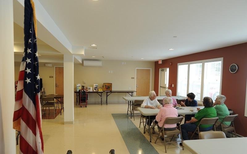 Torringford West Apartments community room