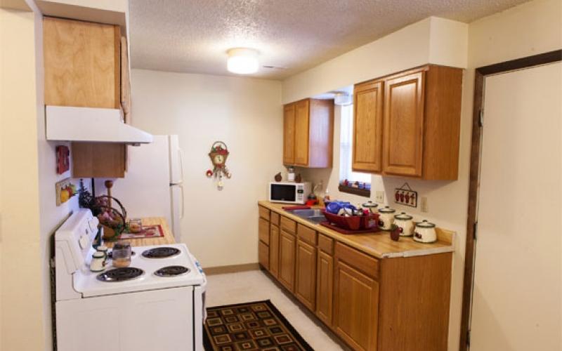 Prairie Plains unit kitchen