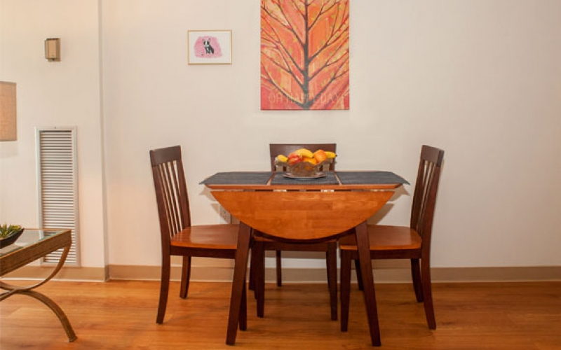Kenmore Abbey unit dining room