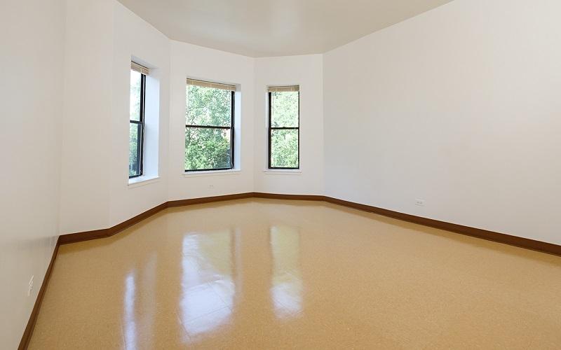 Renaissance Apartments unit living room