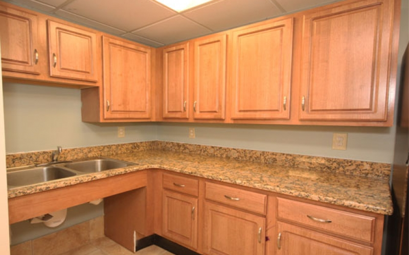 New Horizons Apartments unit kitchen