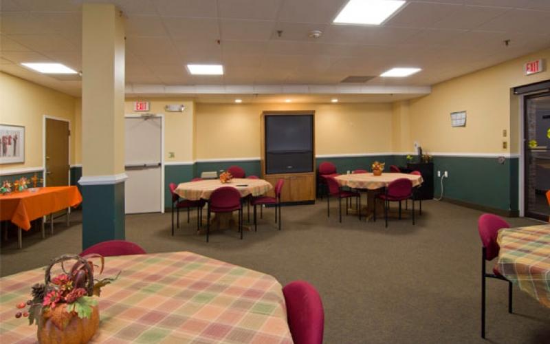 Chestnut Gardens community room