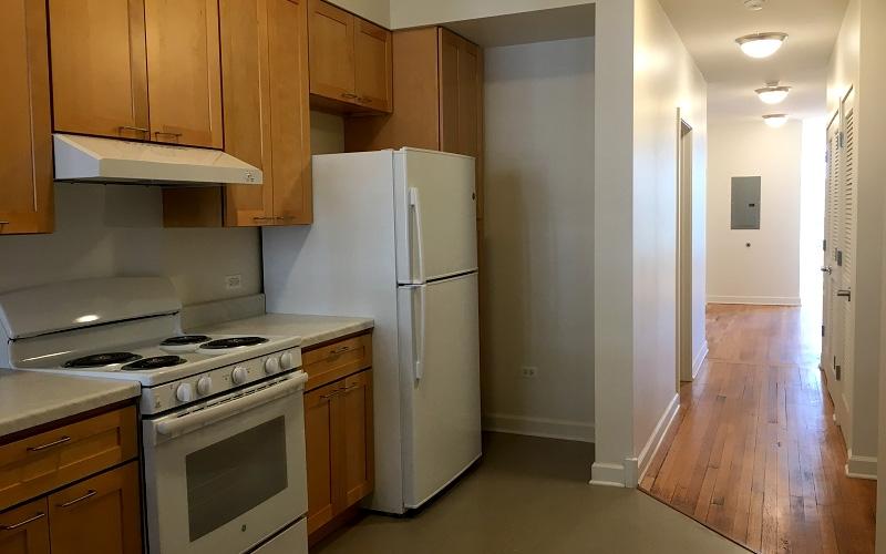 The Washington unit kitchen