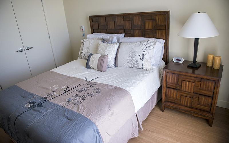 The Burnham bedroom