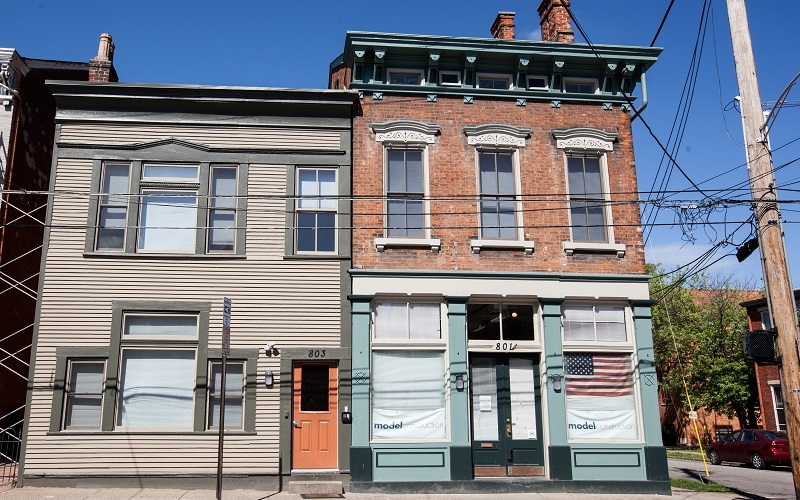 Front building facade