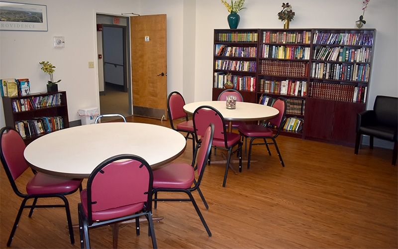 Grace Apartments library