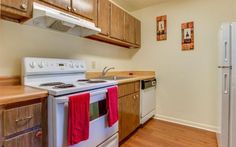 Middletowne Apartments unit kitchen