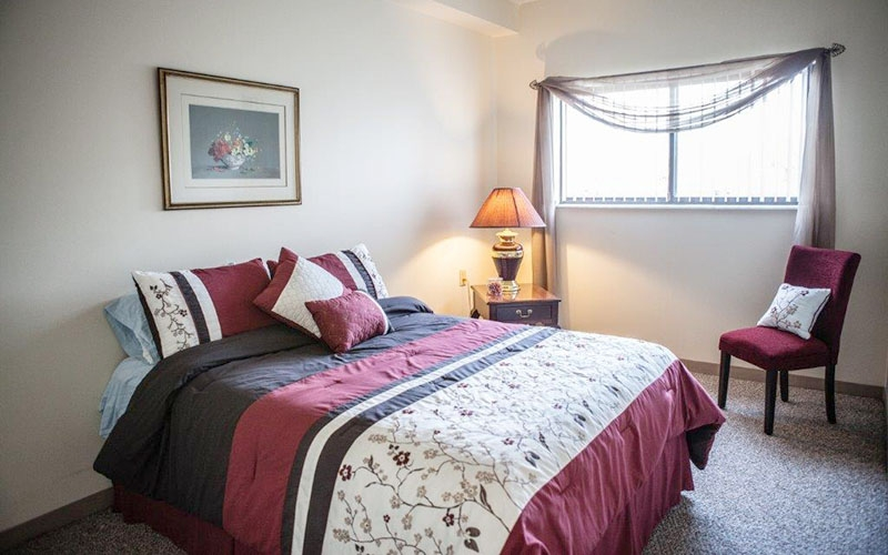 920 On the Park bedroom