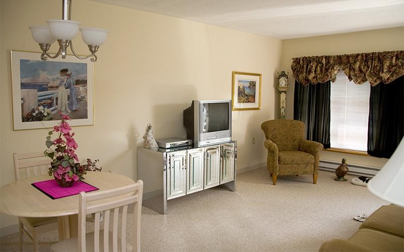 Bridle Path unit living room