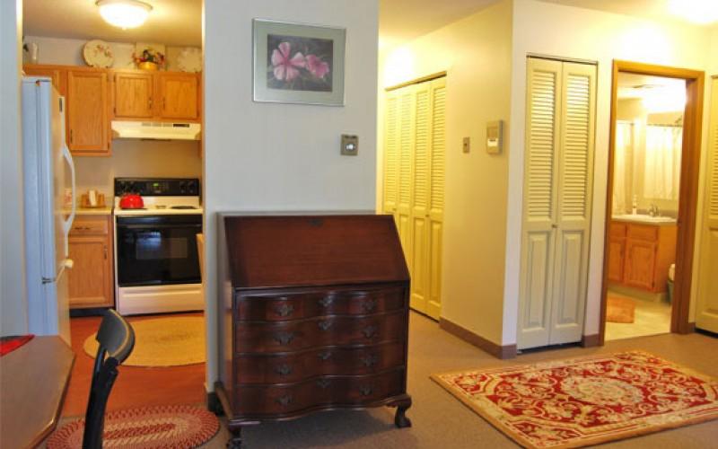 Beachwood unit living room