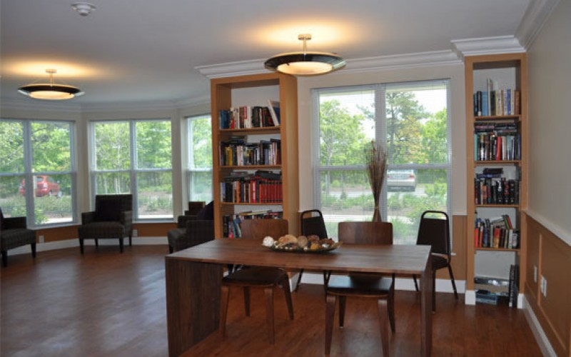 Clay Pond Cove community room
