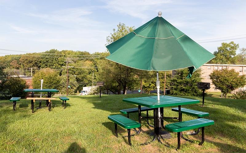 Garfield Hills outdoor common area