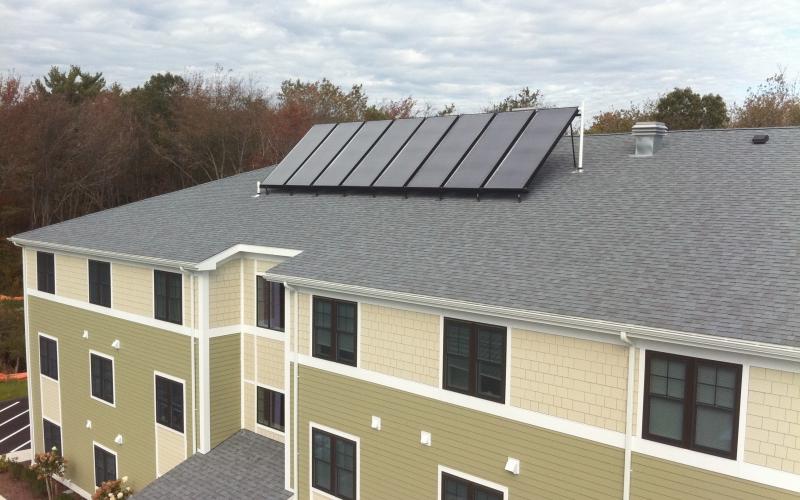 Torrey Woods roof solar panels