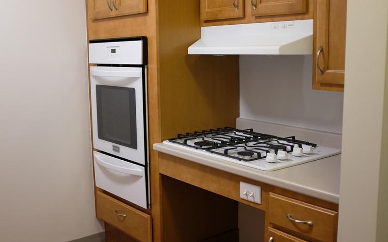 Bedford Village unit kitchen