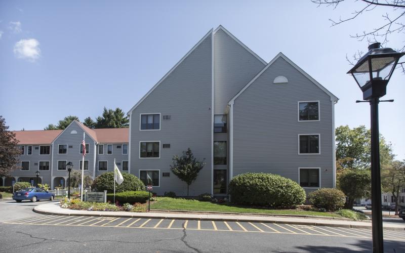 Machado House exterior and parking area