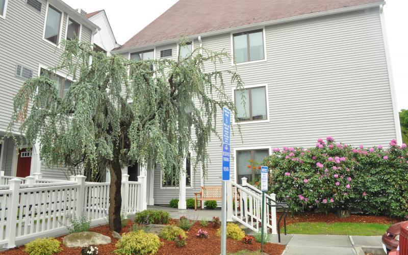 Machado House entrance