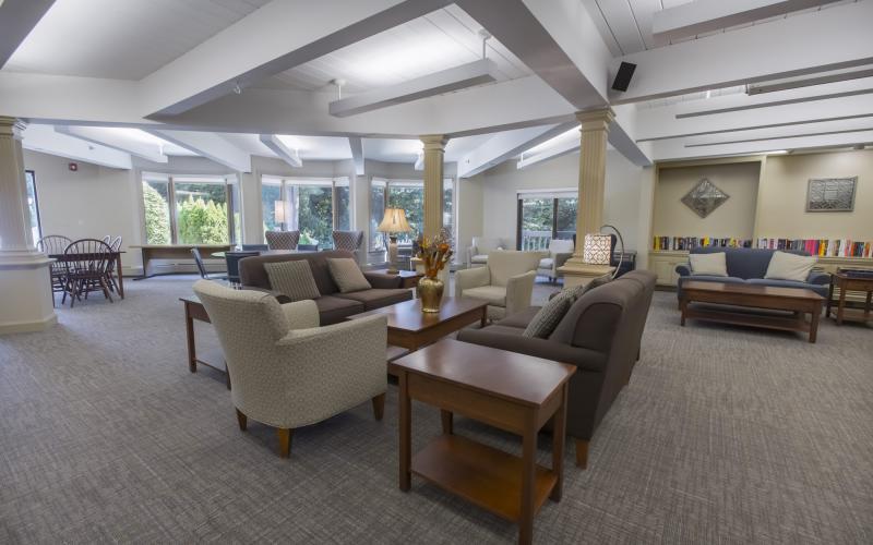 Machado House common room