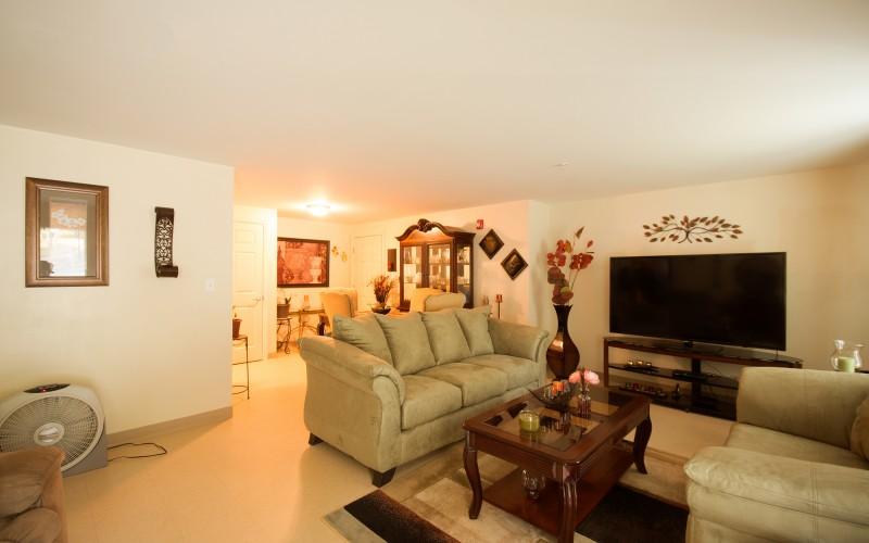 Meadowbrook Apartments unit livingroom