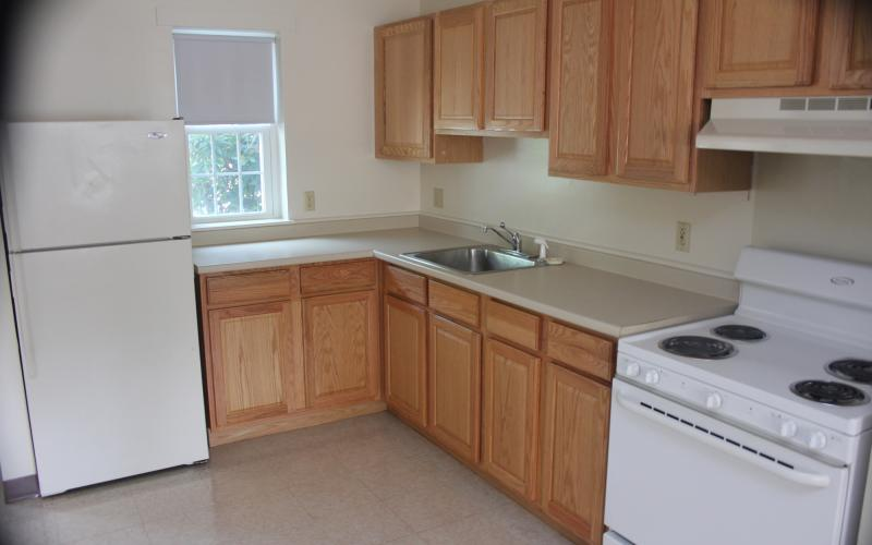 Sugar River Mills unit kitchen