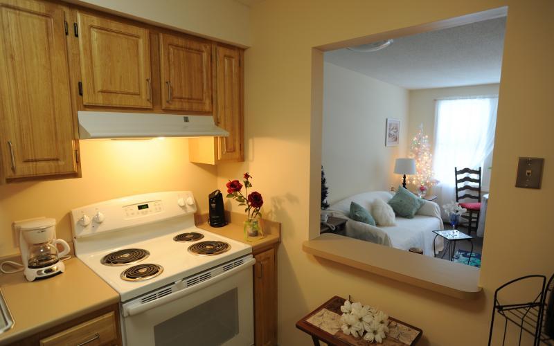 Torringford West Apartments apartment kitchen