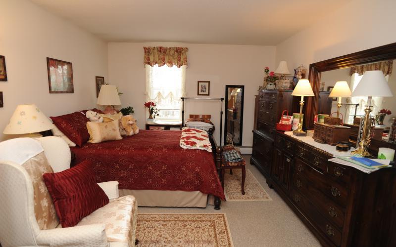 Torringford West Apartments apartment bedroom