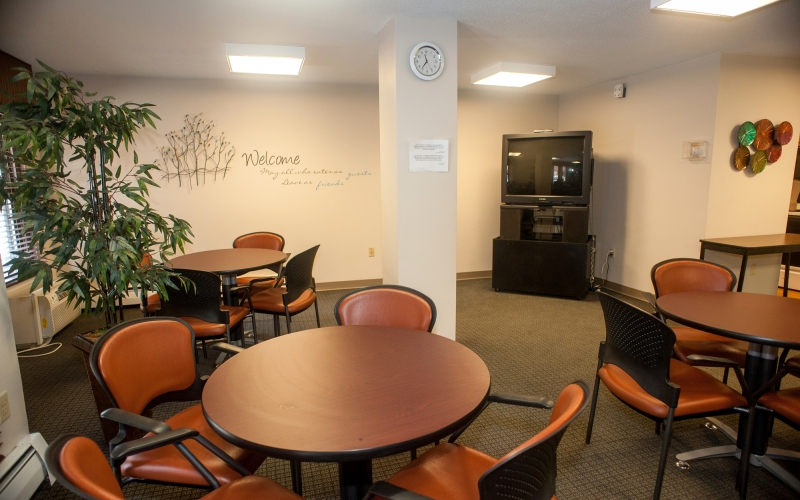 Tribune Apartments community room