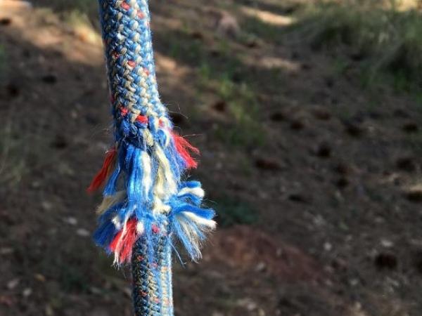 rope fraying