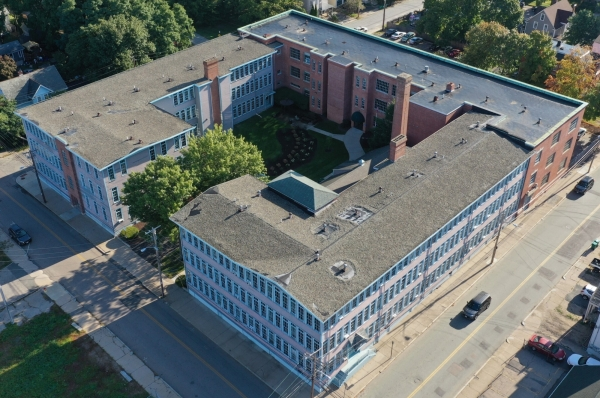 View of building from above