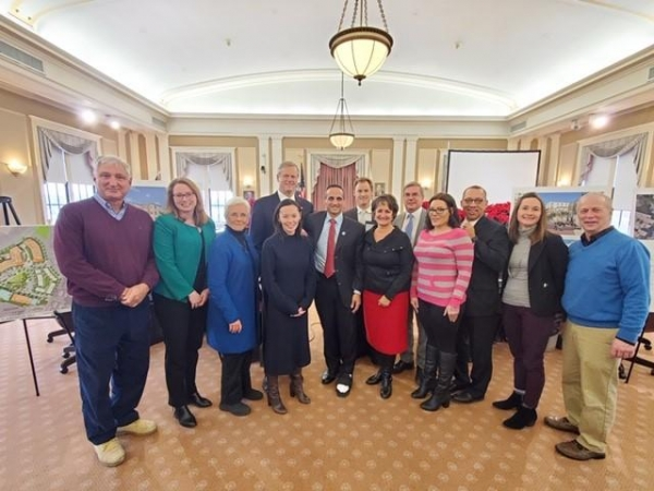 group with governor baker